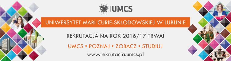 Reklama UMCS Lublin
